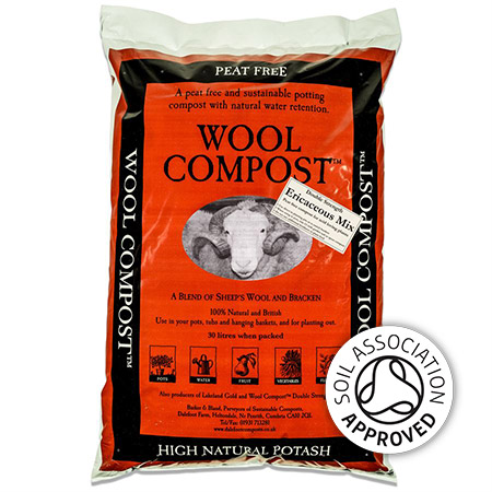 Wool Compost Ericaceous Double Strength