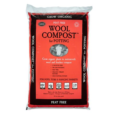 Wool Compost for Potting