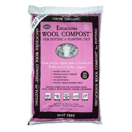 Ericaceous Wool Compost for Potting