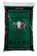 Wool Compost for Vegetables and Salads