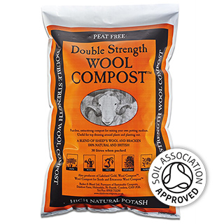 Wool Compost Double Strength