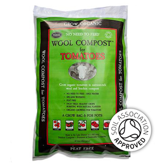 Wool Compost for Tomatoes