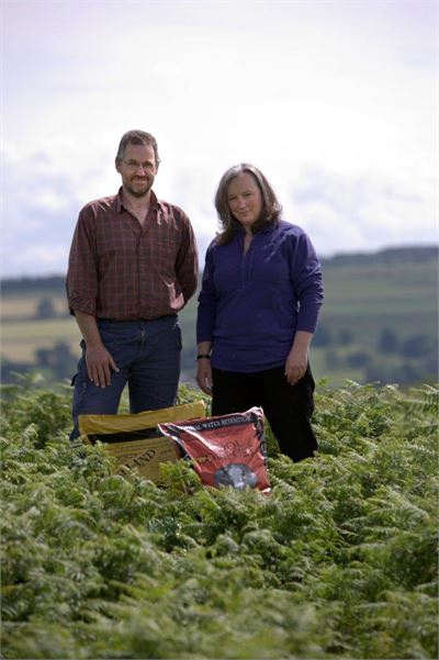 Simon and Jane, founders of Dalefoot Composts