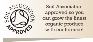 Approved by the Soil Association